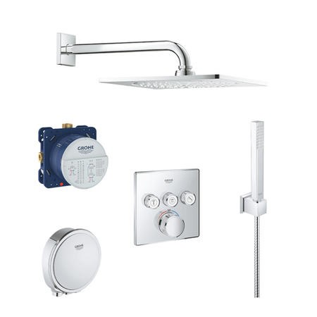 Grohe SmartControl Full Shower Set - 3 Outlet