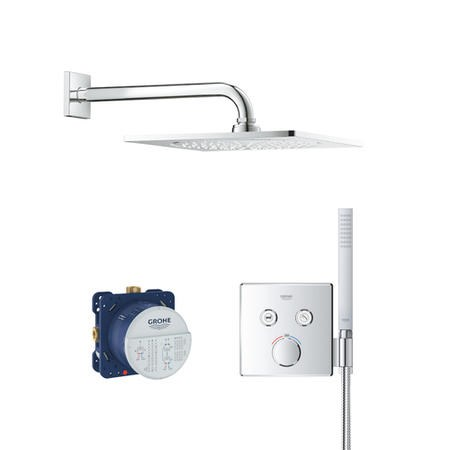 Grohe SmartControl Shower Set with Handset - 2 Outlet