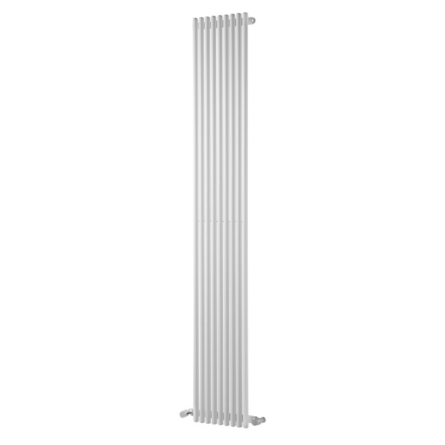 Iridio White Single Panel Vertical Radiator - 1800 x 300mm