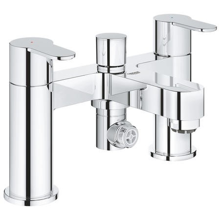 GRADE A1 - Grohe BauEdge Deck Mounted Bath Shower Mixer Tap