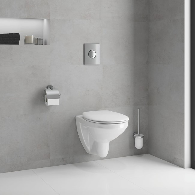 Grohe Solido 5in1 Bau Toilet Set- Toilet and Wall Hanging Frame with Cistern
