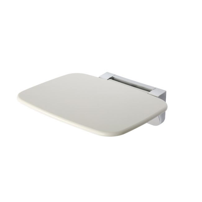 Croydex White and Chrome Shower Seat