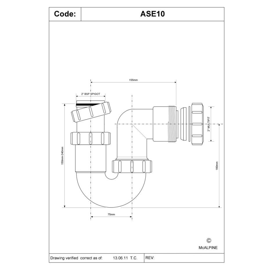1 5 Quot 75mm Water Seal Adjustable Inlet Tubular Swivel P