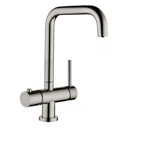 Instant Boiling Water Kitchen Tap 3 in 1 Brushed Nickel