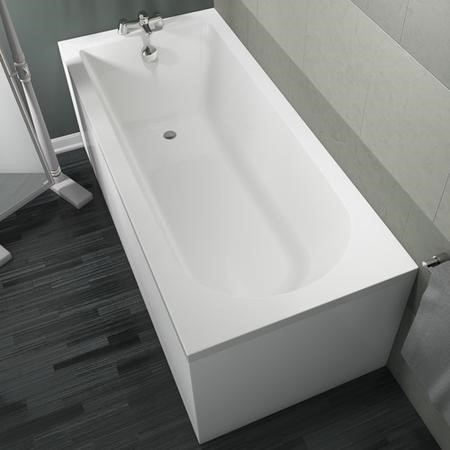 Estoril Single Ended Standard Bath includes Leg Set - 1700 x 750mm