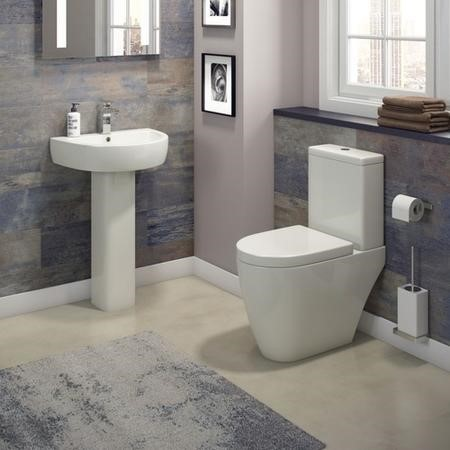 Curve Toilet & Basin Bathroom Suite