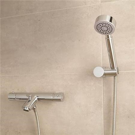 Peru Wall Mounted Bath Shower Mixer with Circo handset