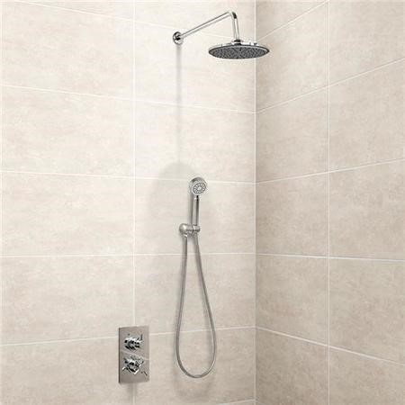 EcoStyle Concealed Dual Control Shower Valve with Diverter handset and head