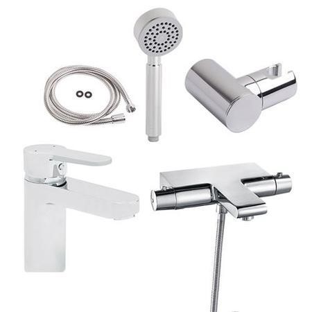 Montroc Bath Shower Mixer and Annabella Mono Tap Pack