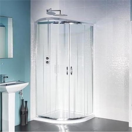 AquaLine 1000 Quadrant Shower Enclosure with Ultralite Shower Tray