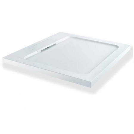 Elusive 900 x 900 Square Shower Tray with Waste