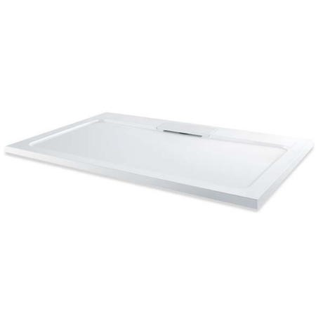 Elusive 1000 x 800 Rectangular Shower Tray with Waste