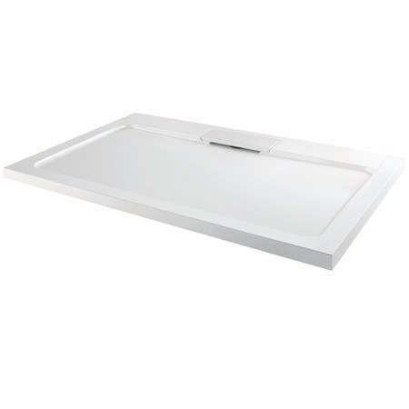 Elusive 1200 x 800 Rectangular Shower Tray with Waste