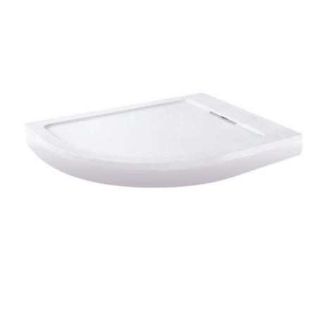Elusive Easiplumb 1200 x 900 Left Hand Offset Quadrant Shower Tray with Waste