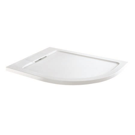 Elusive 1200 x 900 Right Hand Offset Quadrant Shower Tray with Waste