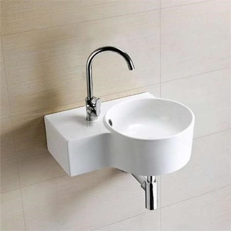 Strava Right Hand Wall Mounted Basin