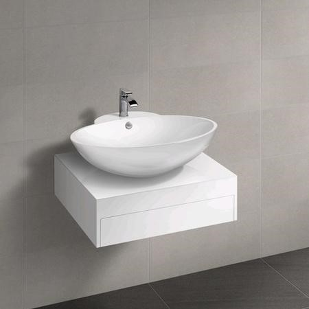 Barletta 800 Vanity Unit with Angel Square Countertop Basin