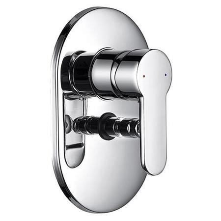 Nuovo Concealed Dual Control Shower Mixer - No Rail Kit