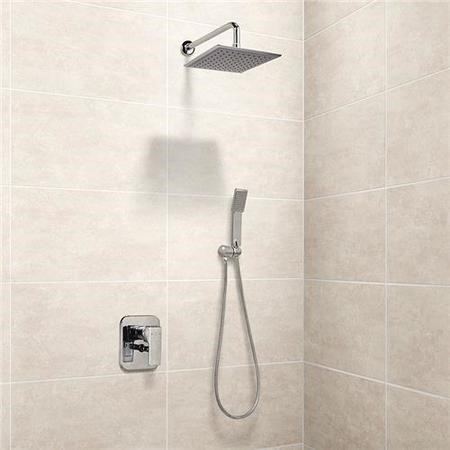 Serrato Premium Concealed Dual Control Shower Mixer with Handset and Head
