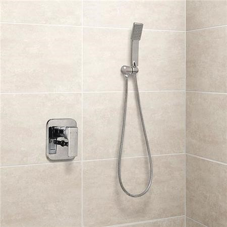 Serrato Premium Concealed Dual Control Shower Mixer with Overflow and Handset