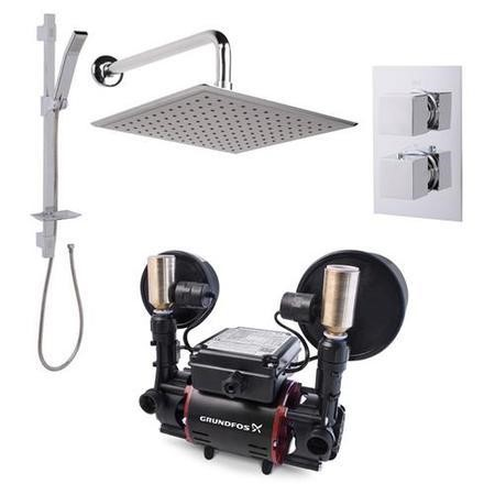 Quadro Rail Kit 1.5 Bar Universal Power Shower