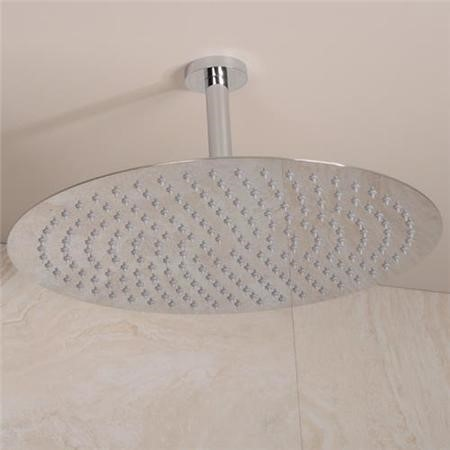 UltraThin Designer Round 400mm Shower Head & Ceiling Arm