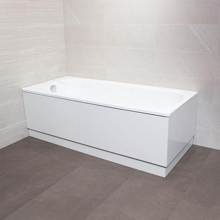 1500 x 700 Steel Bath without Tap Holes