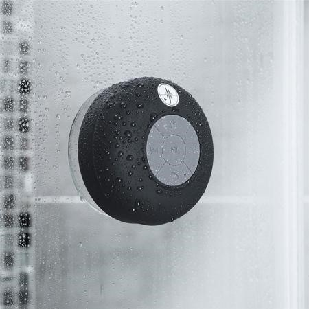 Black Bluetooth Splashproof Speaker