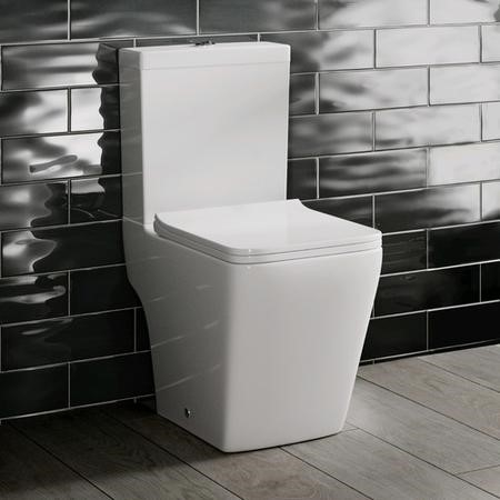 Voss Close Coupled Toilet with Soft Close Seat