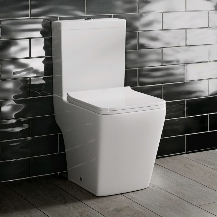 Close Coupled Toilet with Soft Close Seat - Voss Range