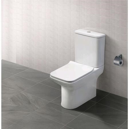 Milan Close Coupled Toilet and Seat
