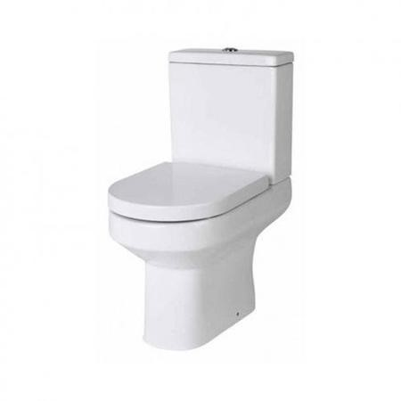 Maine Close Coupled Toilet with Pan Connector