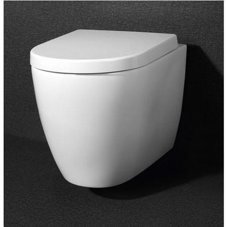 Newport Rimless Wall Hung Toilet with Soft Close Seat