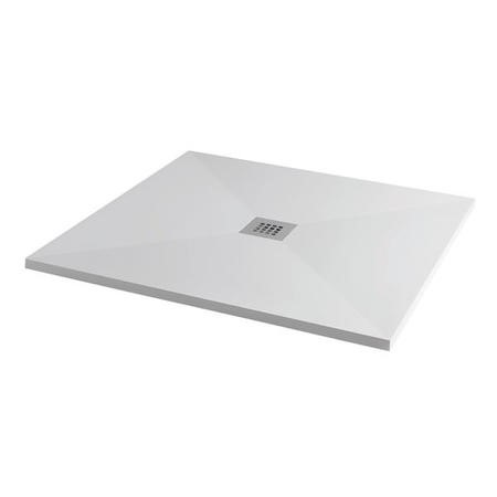 Silhouette 900 x 900 Ultra Low Profile Tray with Waste