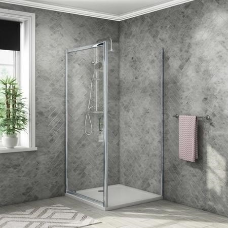 800 x 800 Pivot Shower Enclosure - Vega Range