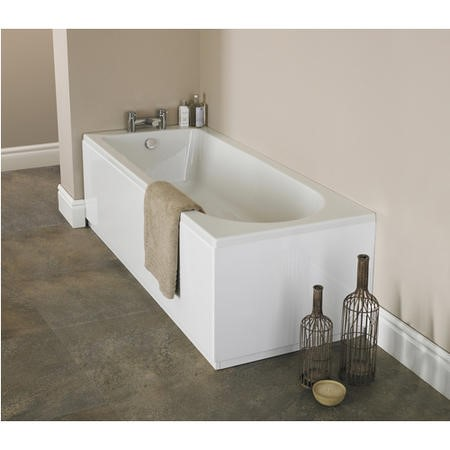 Barmby Single Ended Round Bath - 1500 x 700mm