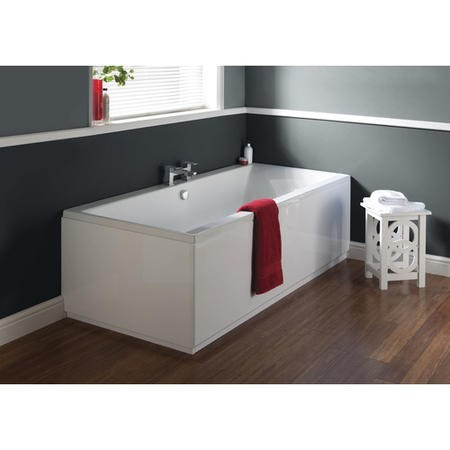 Asselby Single Ended Round Bath with Premiercast - 1700 x 700mm
