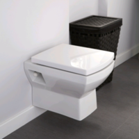Tabor Wall Hung Toilet and Soft Close Seat