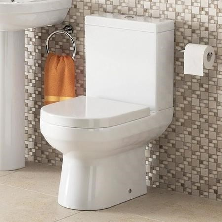 Dee Close Coupled Toilet and Seat