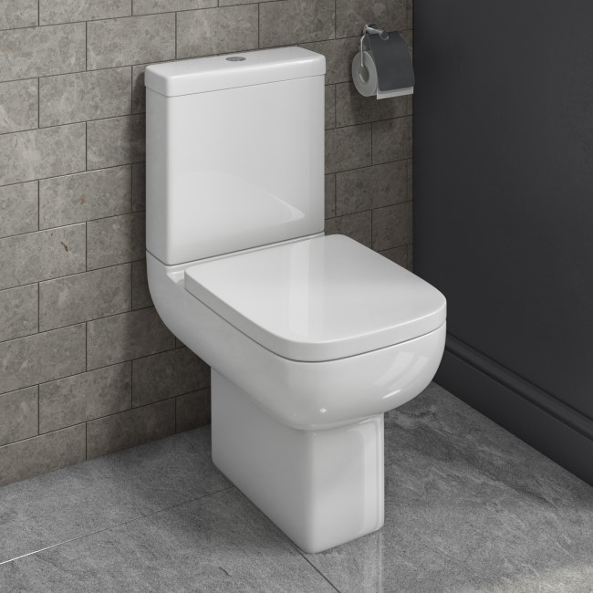 Seren Close Coupled WC and Soft Close Seat
