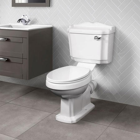 Victoriana Close Coupled Traditional Toilet