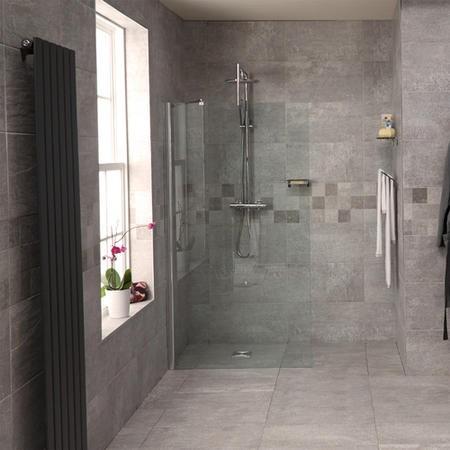 Reversible 1850 X 1000 Wet Room Shower Screen Better Bathrooms
