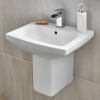 Tabor 560mm Basin and Semi Pedestal