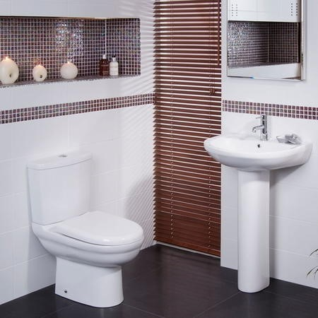 Micro Short Projection Bathroom Suite