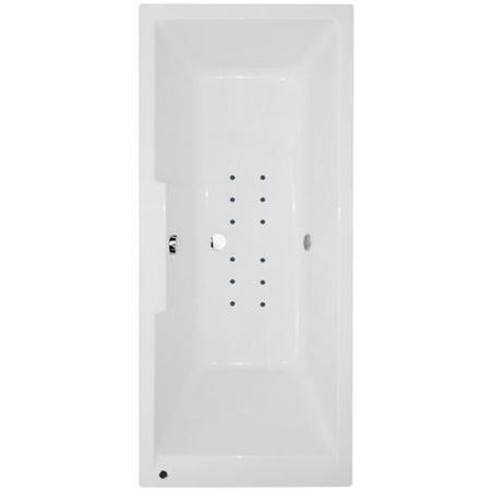 Tabor 1700 x 750 Deluxe Airspa Bath-Double Bath Screen-Right hand bath