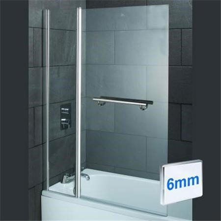 Turin 1800 x 900 Double Ended Airspa Bath-Double Bath Screen