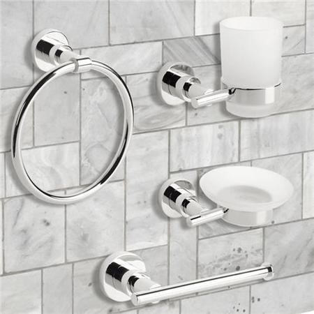 Ice 4 Piece Bathroom Accessory Pack