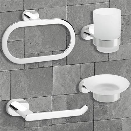 Floe 4 Piece Bathroom Accessory Pack