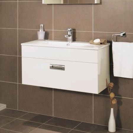 Aspen Compact 800 Wall Mounted 1 Drawer Vanity Unit