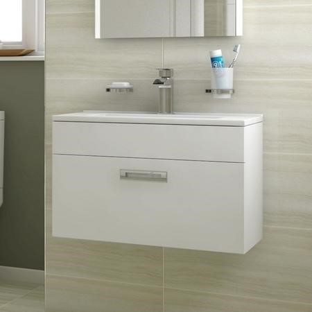 Aspen Compact 600 Wall Mounted Vanity Unit
